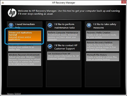 hp recovery manager download windows 8.1 64 bit - HP ...