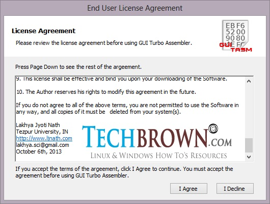 Step-VIII-Start-the-GUI-Turbo-Assembler-from-Desktop-and-accept-the-license-agreement