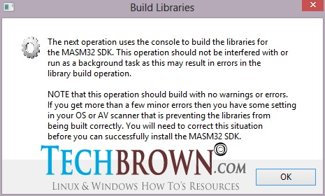 Step-XII-Build-Libraries-and-click-OK-button-to-continue