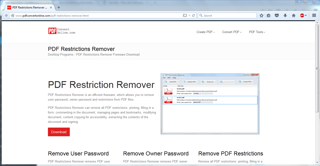 how to remove pdf print restrictions from pdf files With pdf document restrictions remove